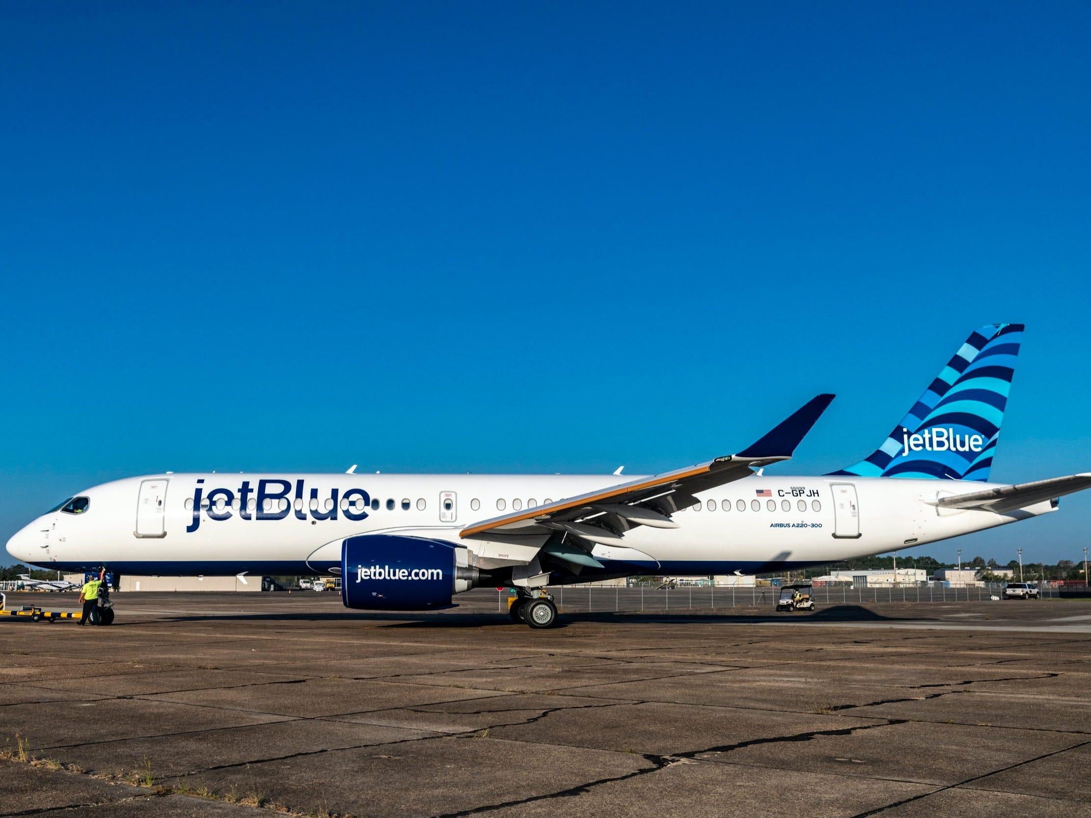 Airbus A220 da Jetblue