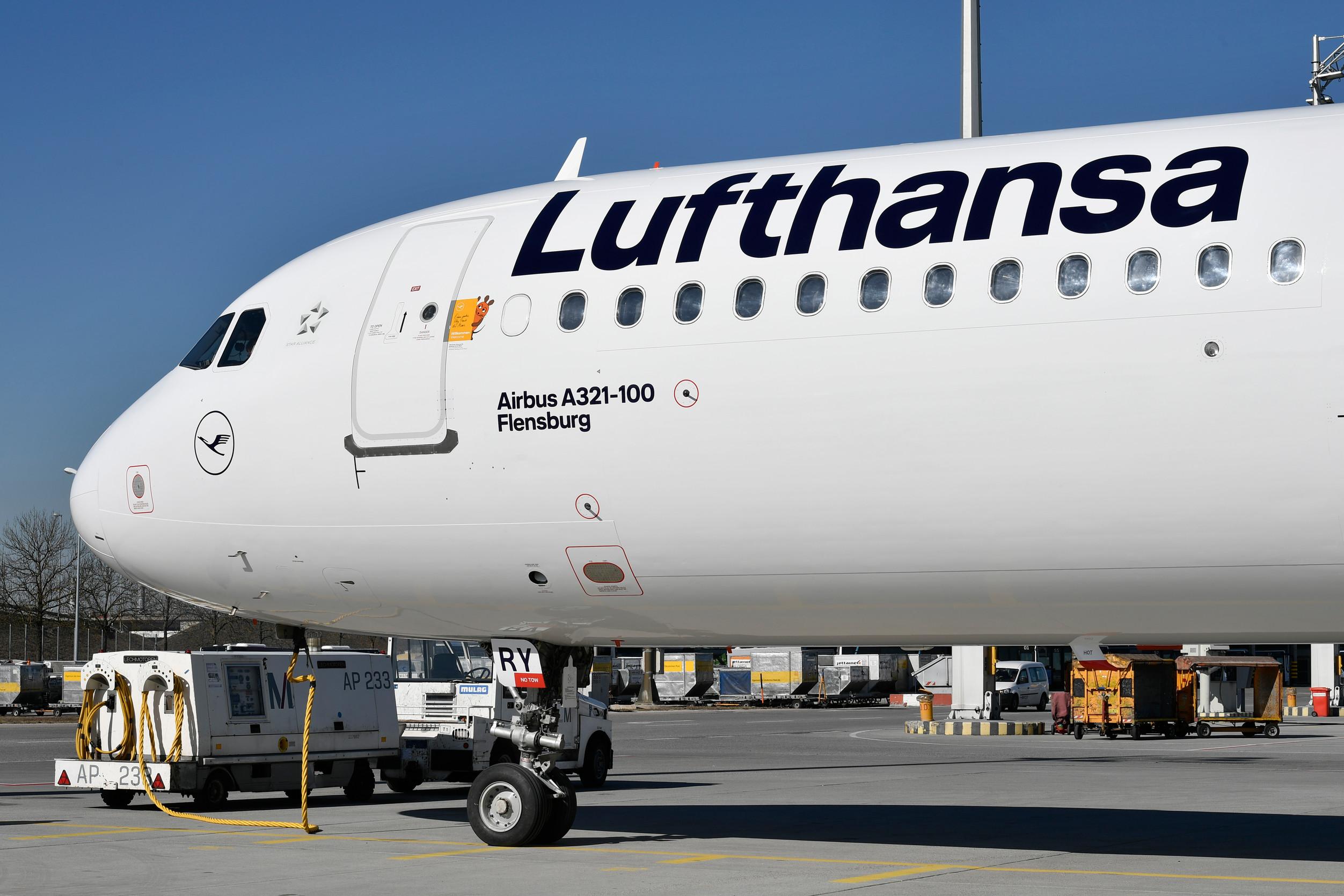 Airbus A321 da Lufthansa