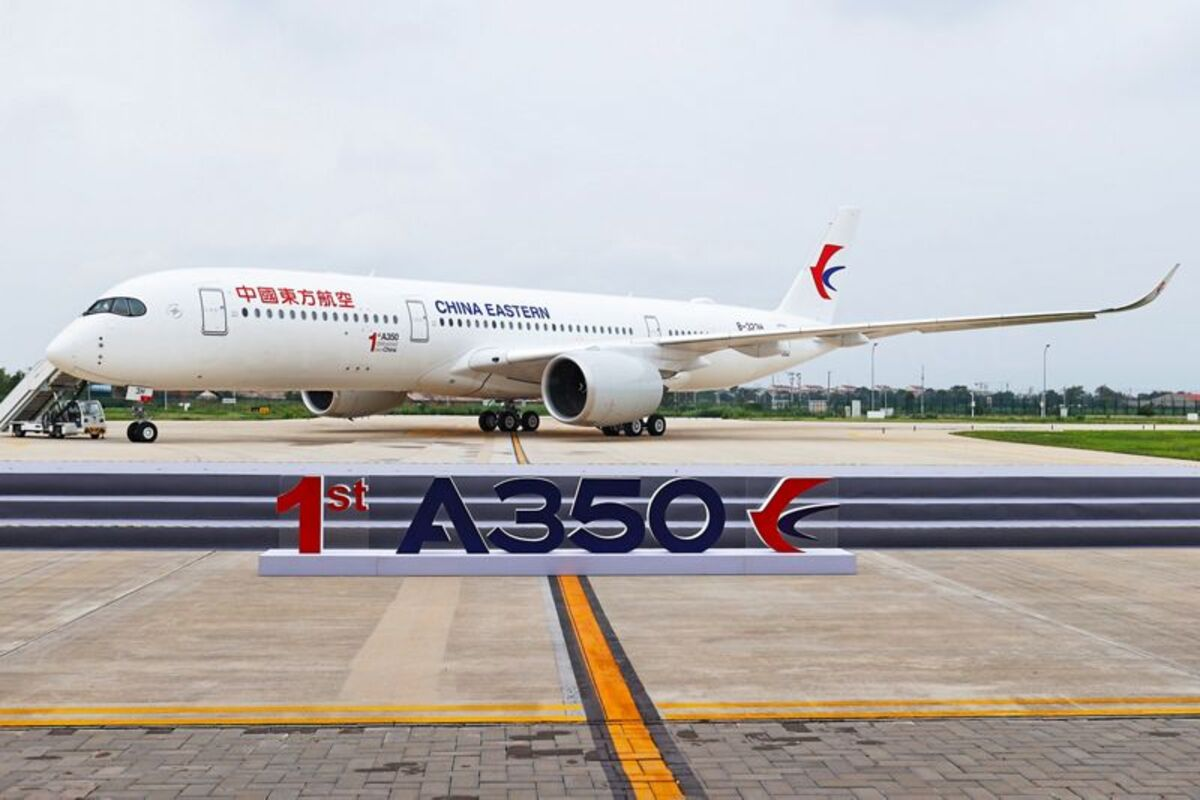 Airbus A350 da China Eastern
