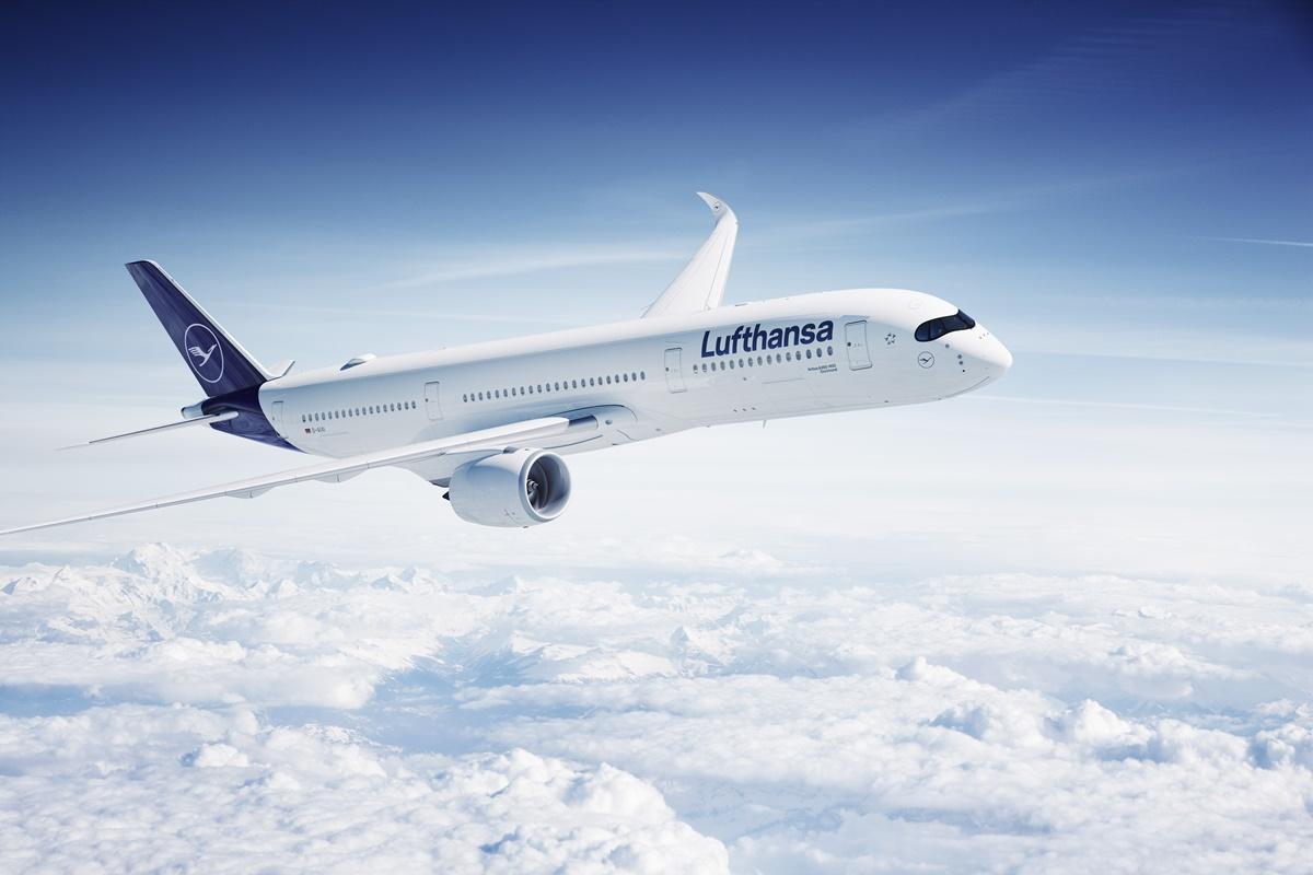 Airbus A350 da Lufthansa