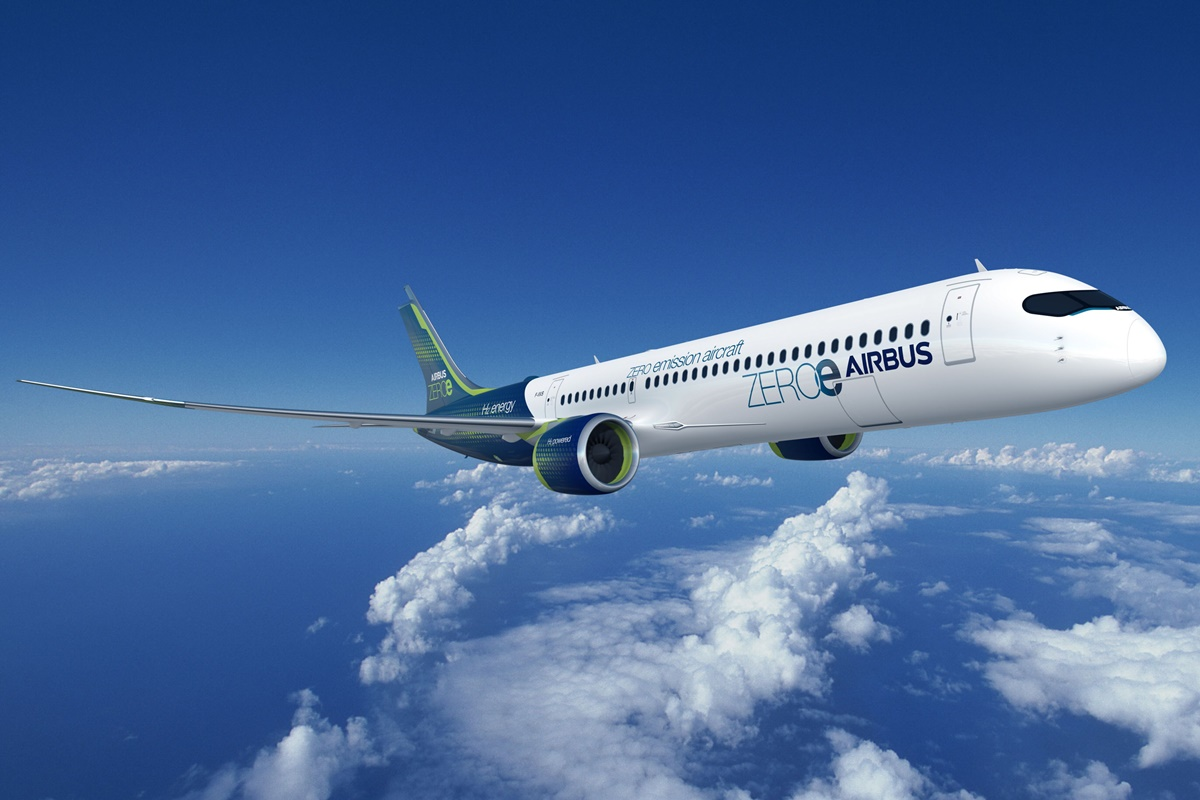 Aeronave movida a hidrogênio