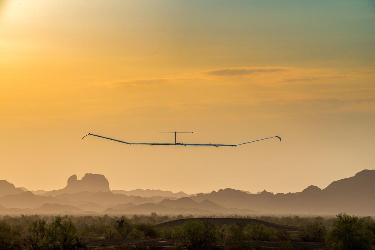 Avião à energia solar da Airbus