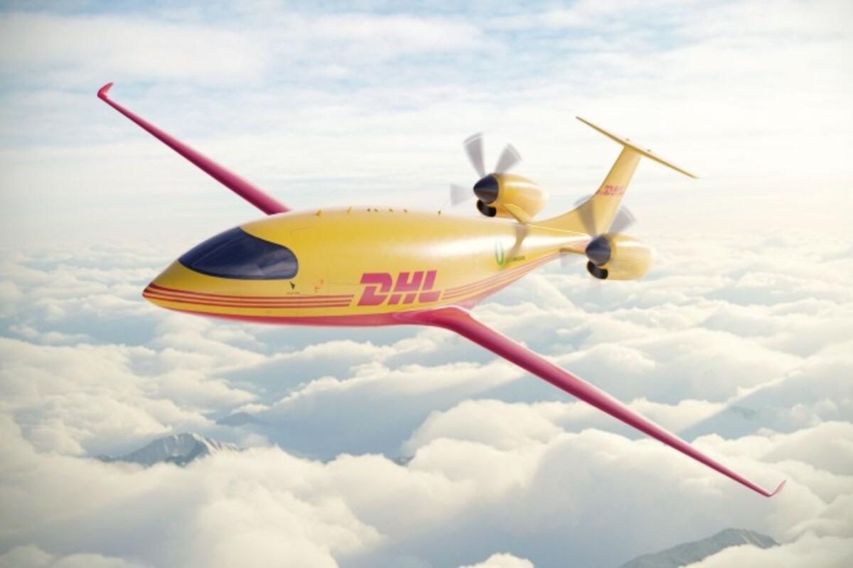 Avião Elétrico da DHL Express