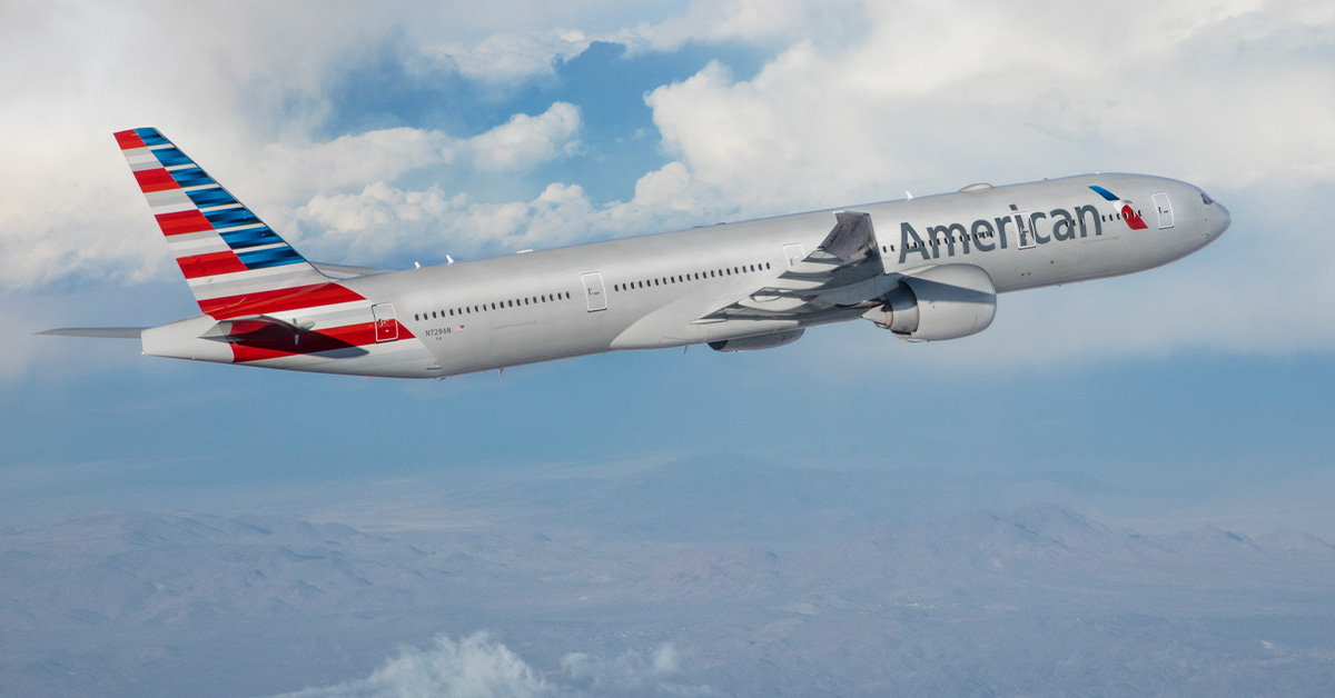 Boeing 777-300ER da American Airlines