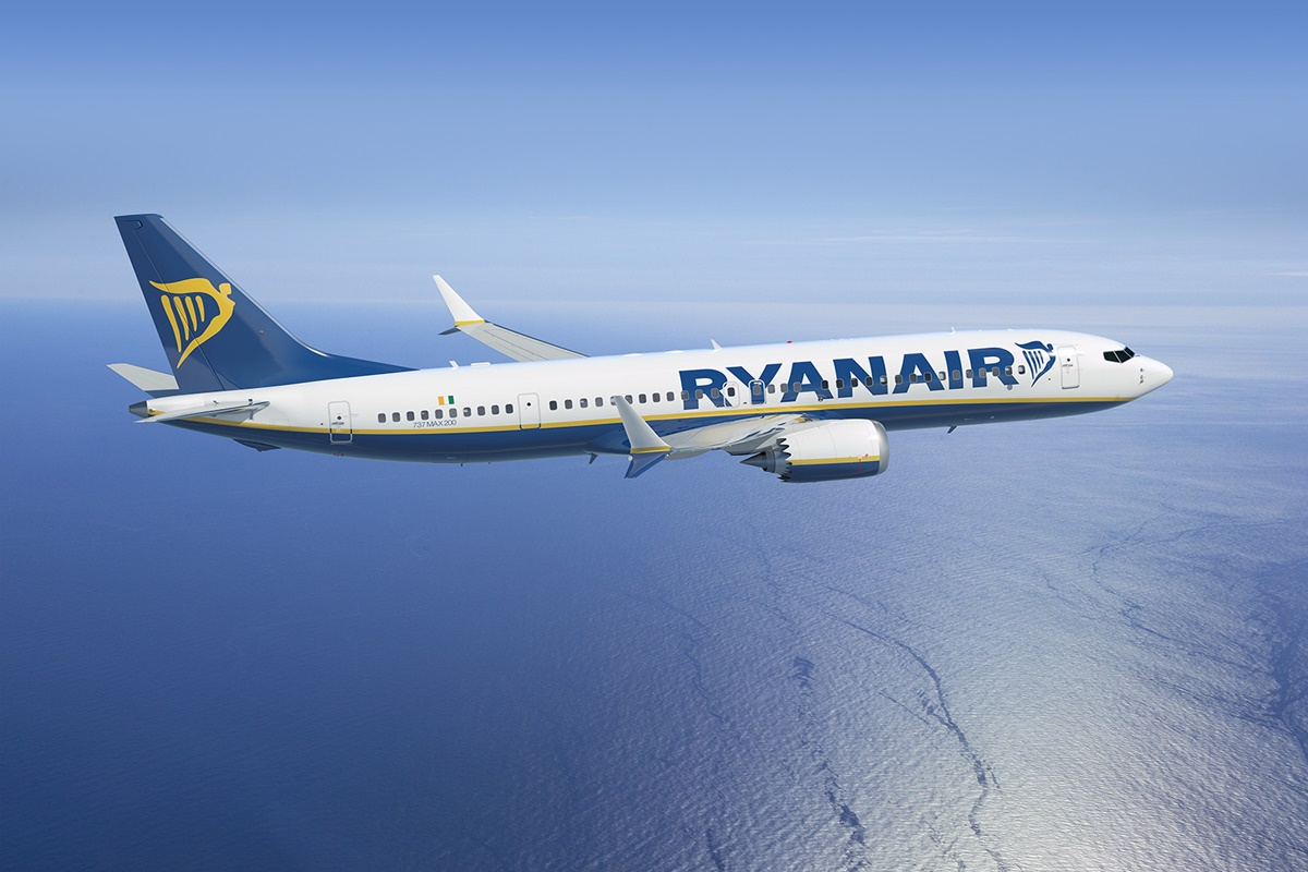 Boeing 737 MAX da Ryanair