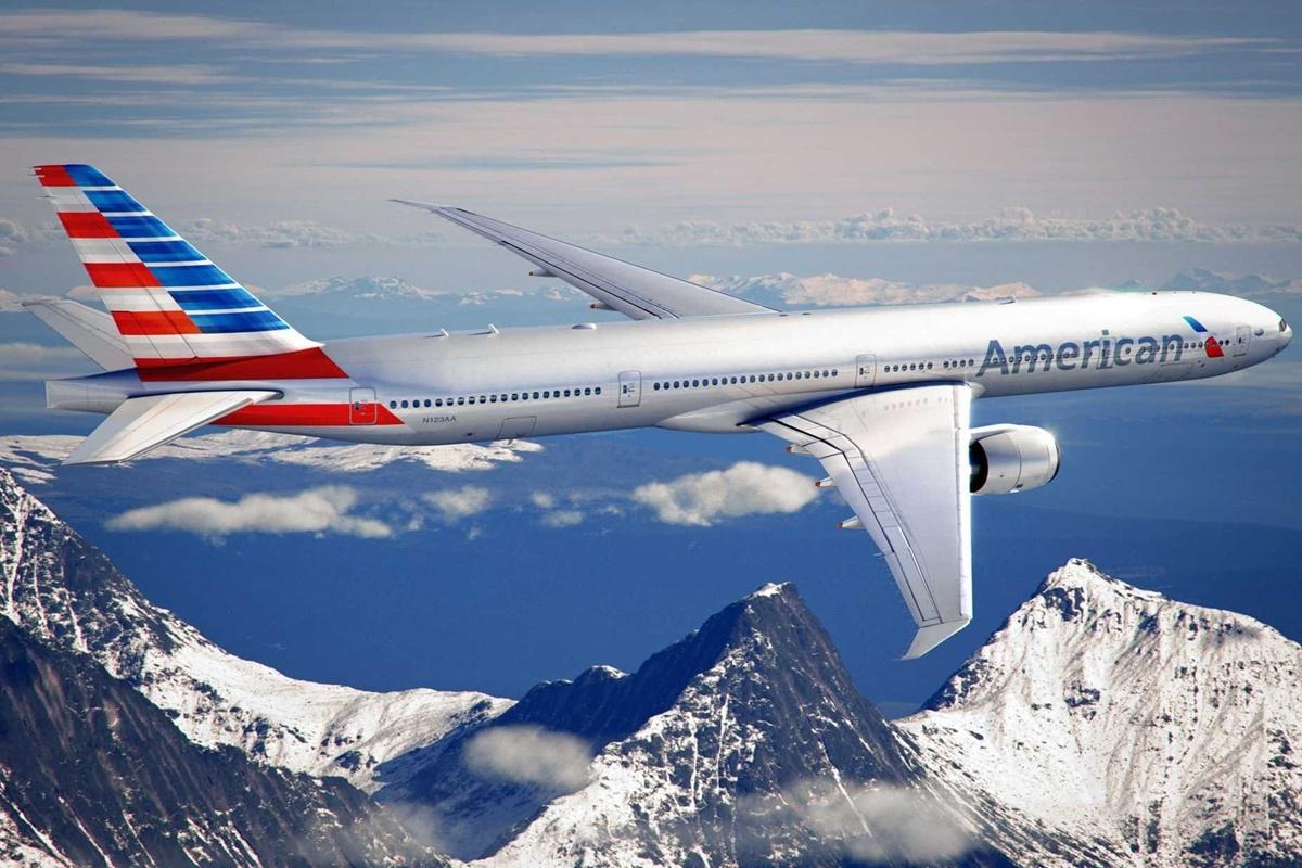 Boeing 777 da American Airlines