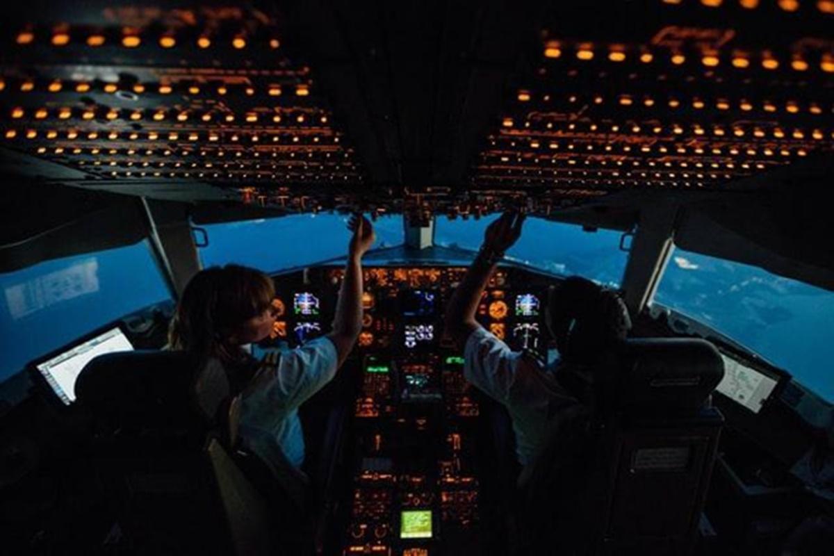 Cabine dos pilotos