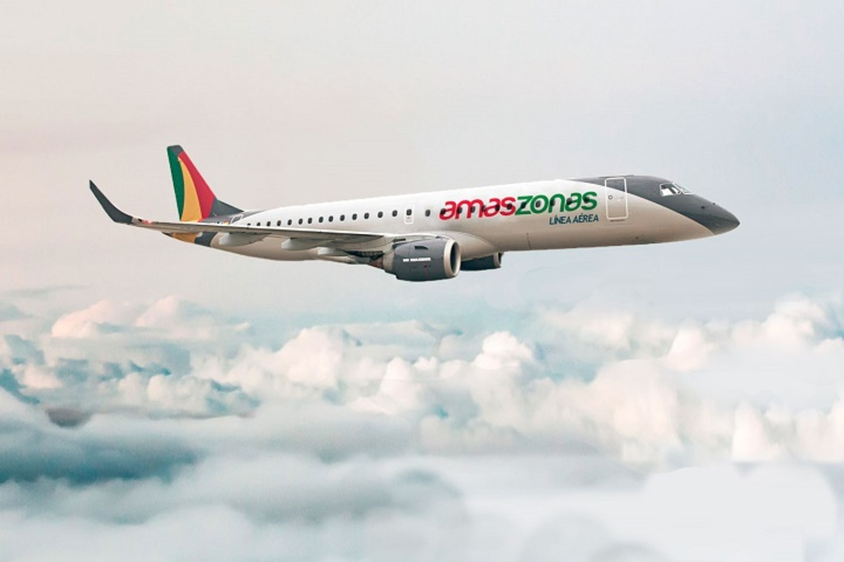 Embraer E190 da Amaszonas