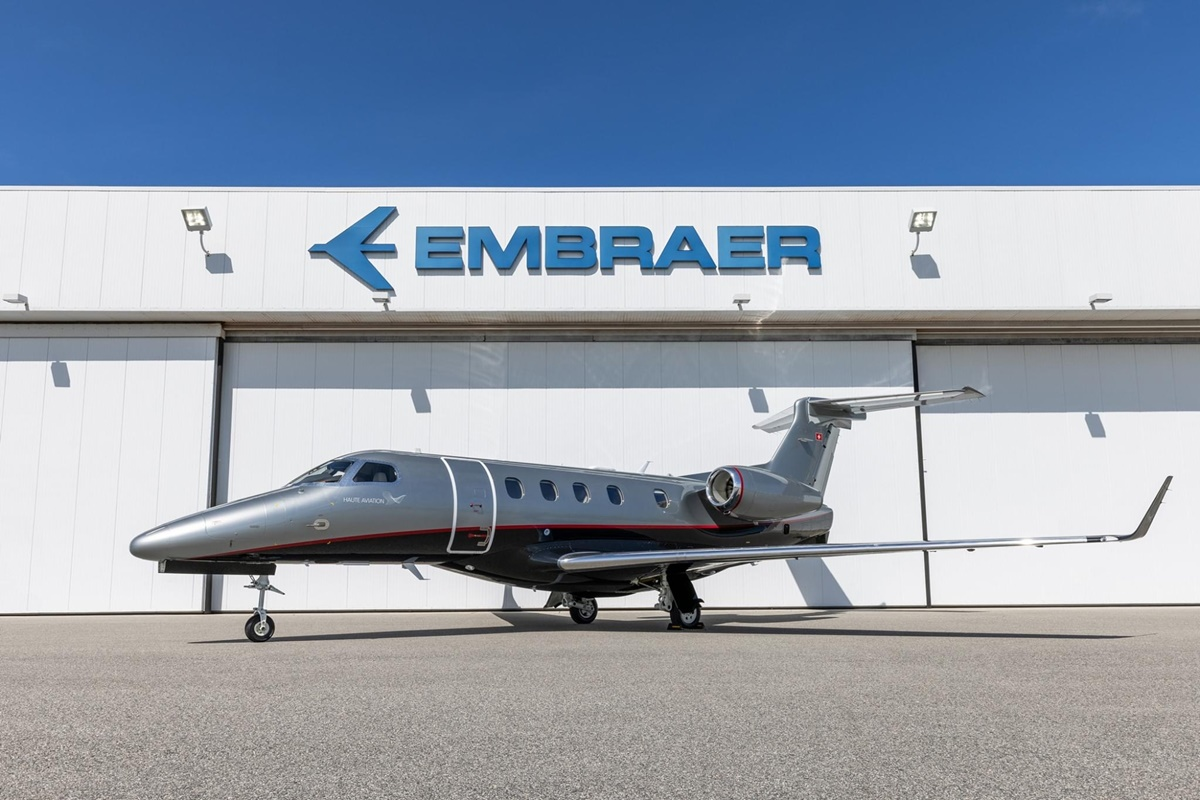Phenom 300E da Embraer