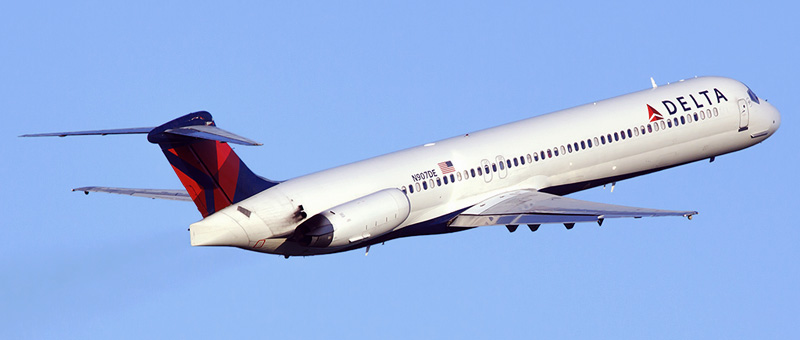 [Internacional] MD-88 se torna 'atalho' para copiloto virar comandante N907de-delta-air-lines-mcdonnell-douglas-md-88