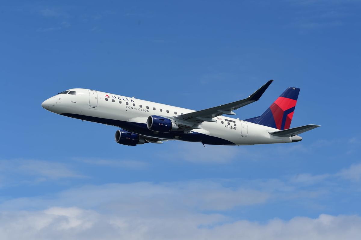 Embraer E175 da Delta Air Lines