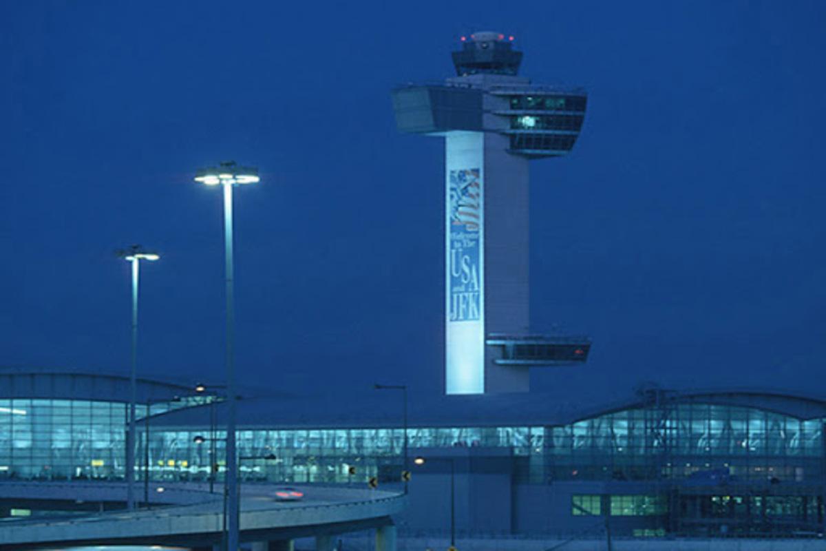 Torre de Controle do Aeroporto JFK