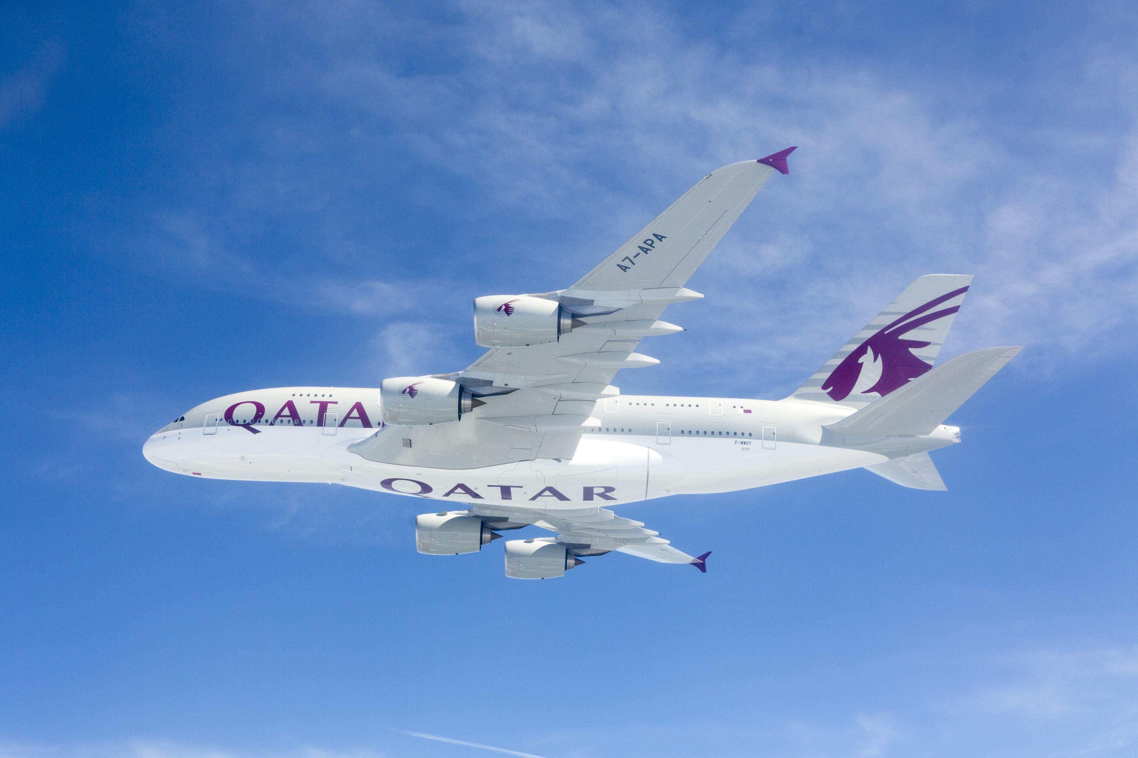 Airbus A380 da Qatar Airways