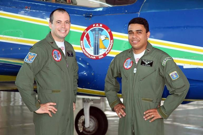 pilotos que morreram em acidente com o super tucano da esquadrilha da fumaça
