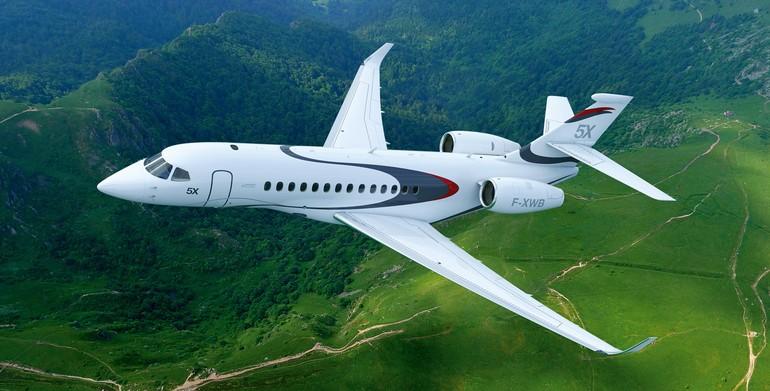 Novo jato  da Dassault