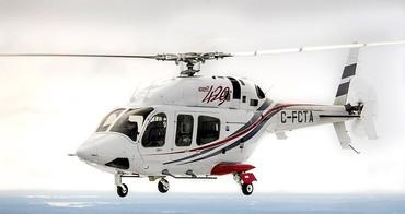 novo Bell 429  com trem de pouso retrátil