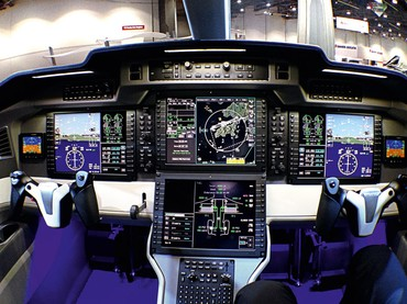 Cockpit do  Pilatus PC-24