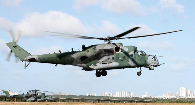 Os poderosos AH-2 Sabre da FAB