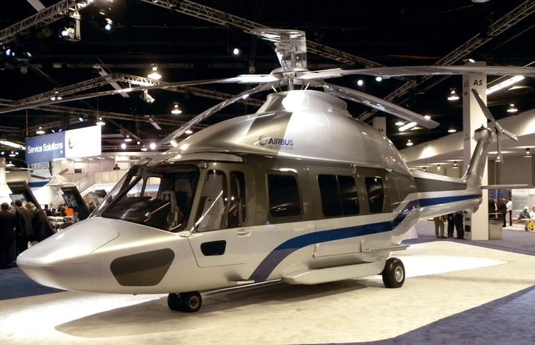 Maquete do EC175 da agora Airbus Helicopter