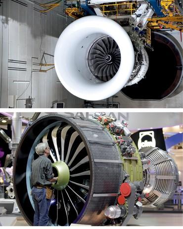 Campanha de testes do Rolls-Royce Trent 1000 e CFM Leap