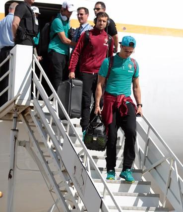 Cristiano Ronaldo em Viracopos