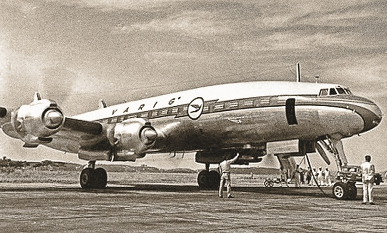 Super Constellation da Varig