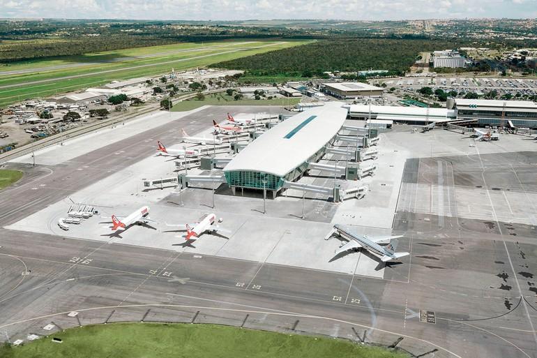 Novo Píer do Aeroporto do Distrito Federal