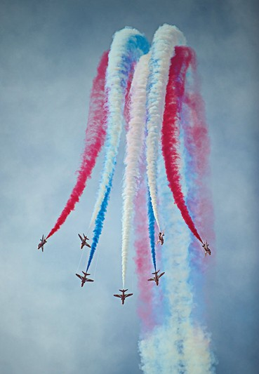 Red  Arrows da RAF