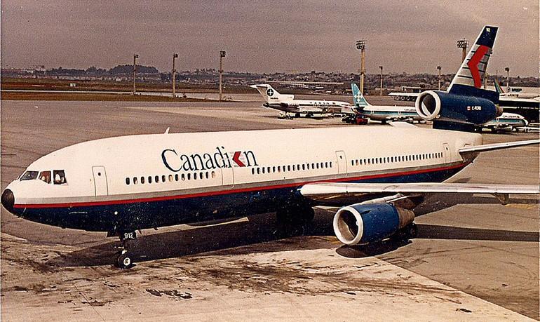 Canadian em Guarulhos com aeronave DC-10-30