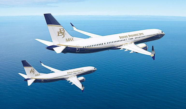 BBJ 737 MAX 9 e MAX 8