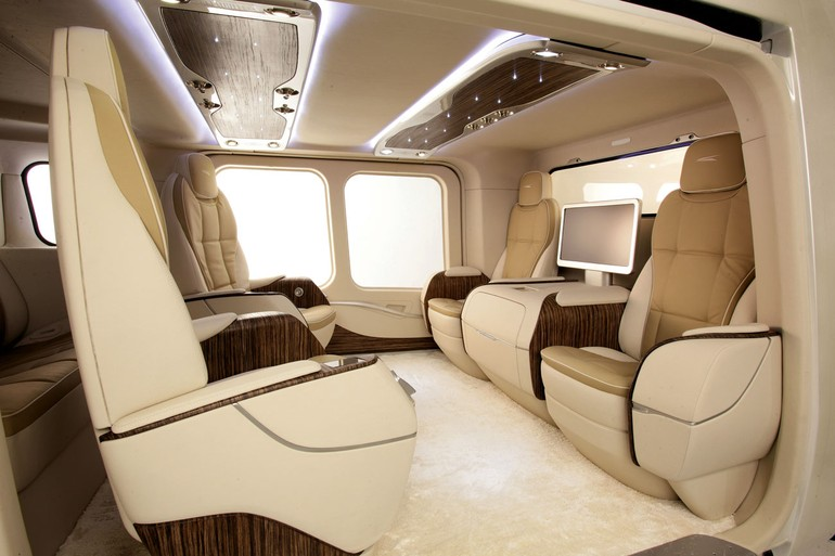 interior do AgustaWestland AW169
