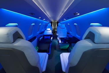 interior do Pilatus PC-24