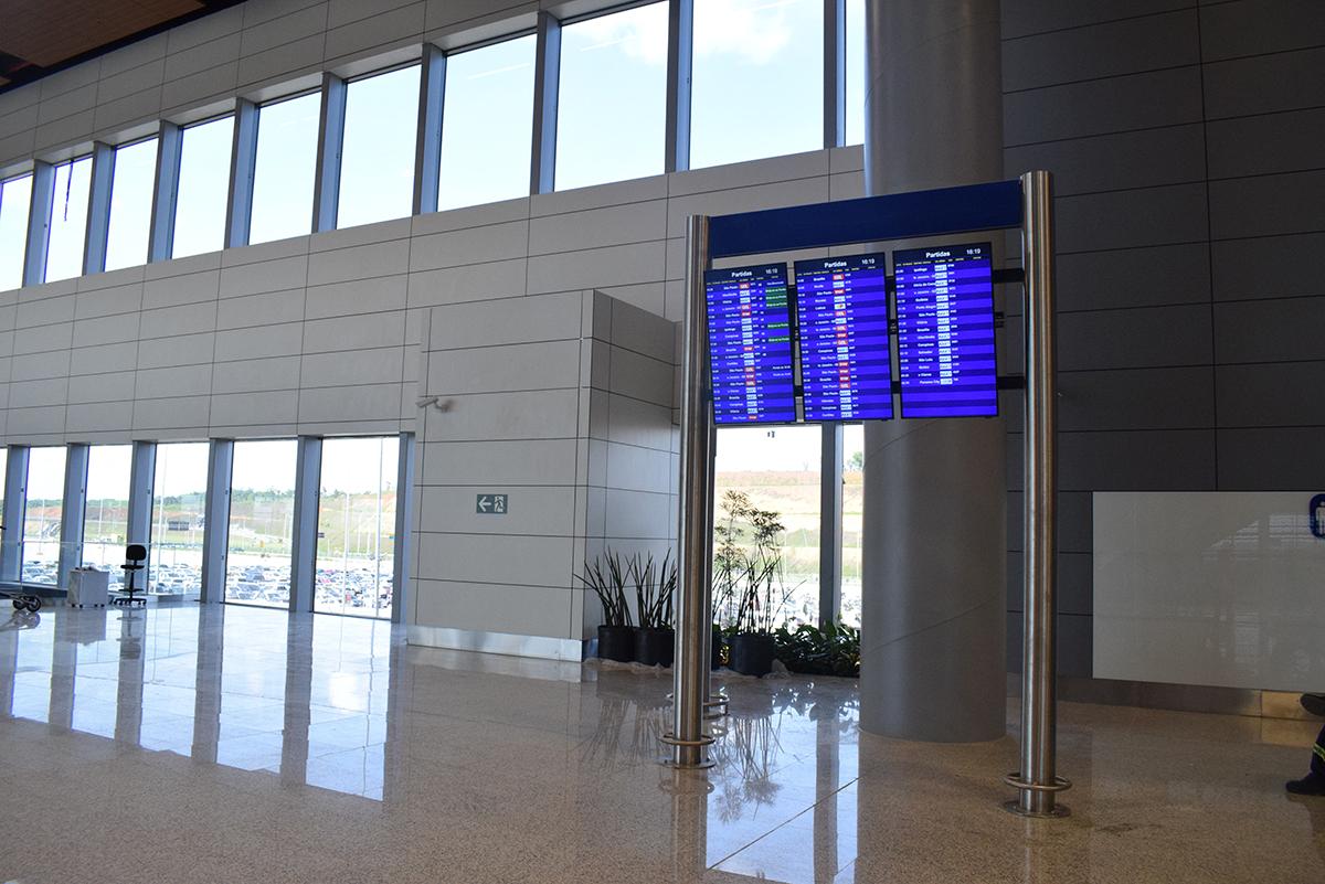 Terminal 2 do aeroporto de Confins, em Belo Horizonte