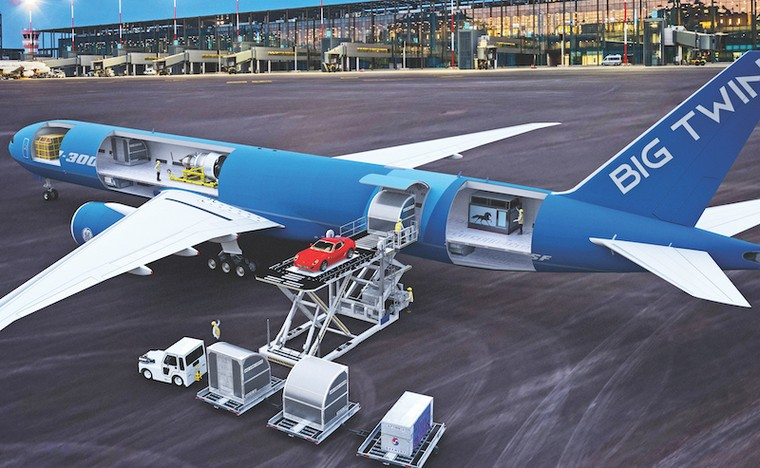 Boeing 777-300F