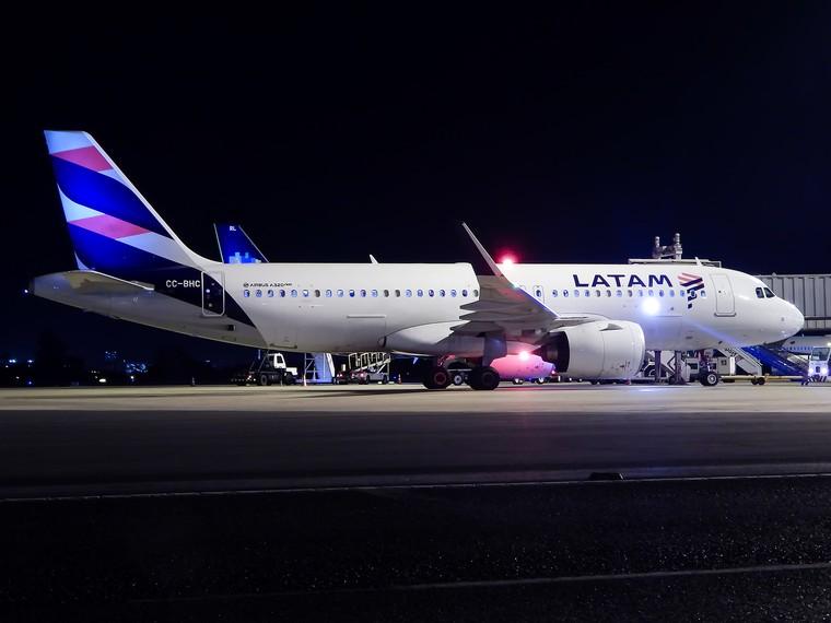 Airbus da Latam Chile