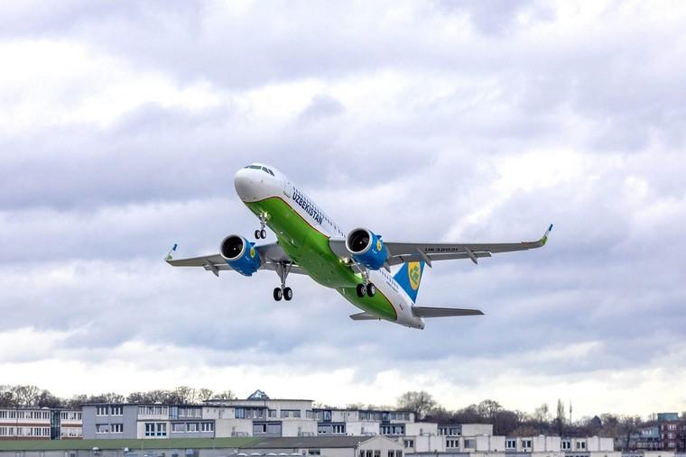 Airbus A320 da Uzbekistan Airways