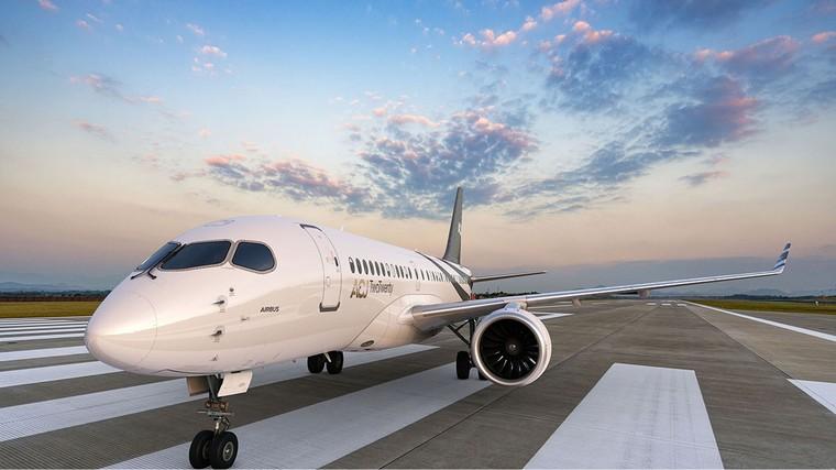 Airbus A220 TwoTwenty o novo jato de negócios da Airbus