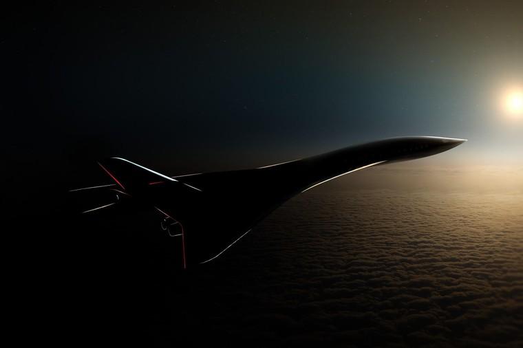 Futuro avião supersônico Aerion AS3