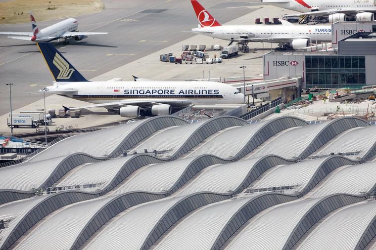 Aeroporto Heathrow em Londres