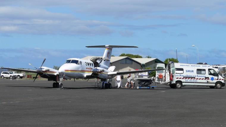 King Air B200 aeromédico