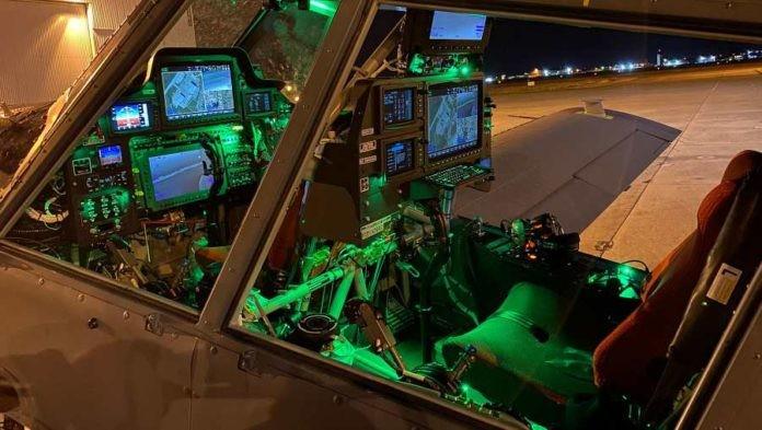 Cockpit do Sky Warden