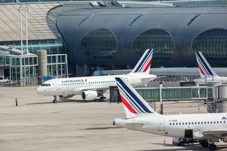 Airbus A318 da Air France em Paris