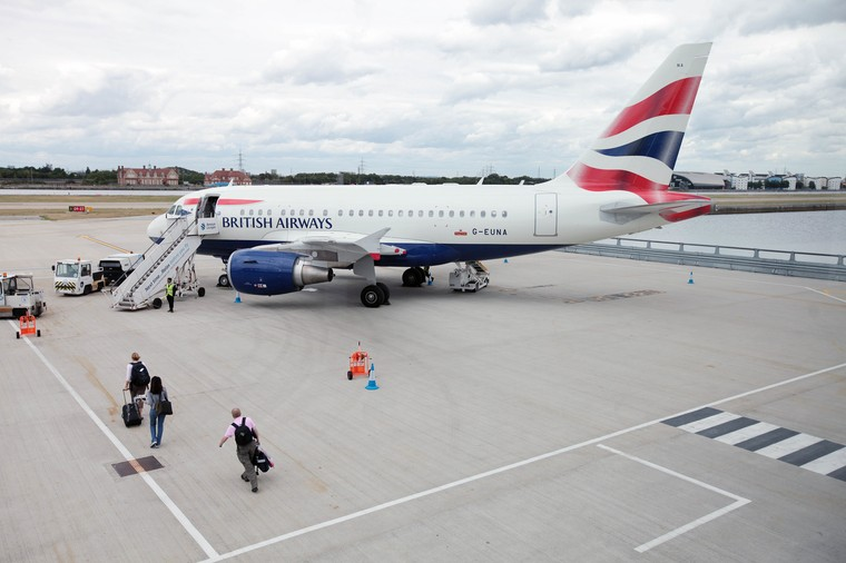 Airbus A318 da British Airways