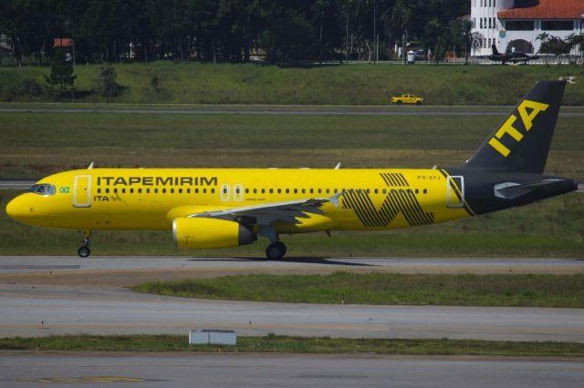 Airbus A320 da Itapemirim