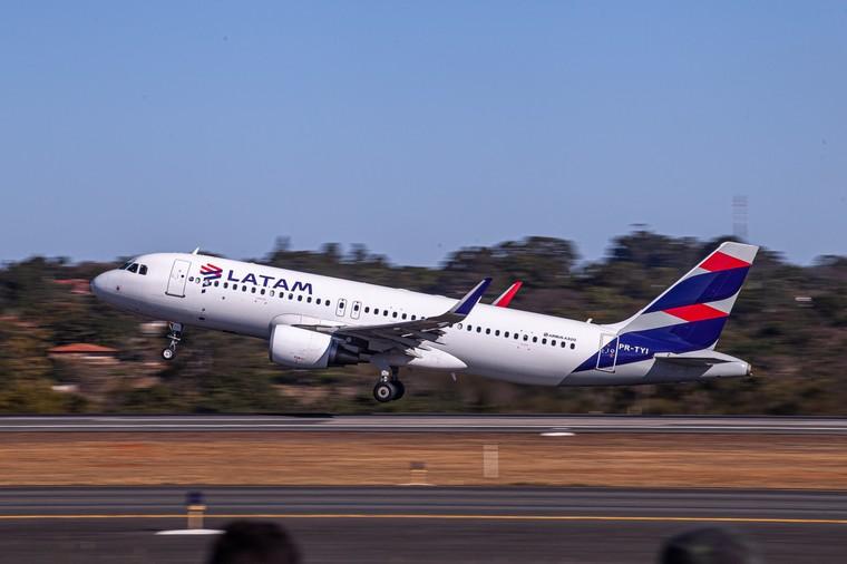Airbus A320 da Latam