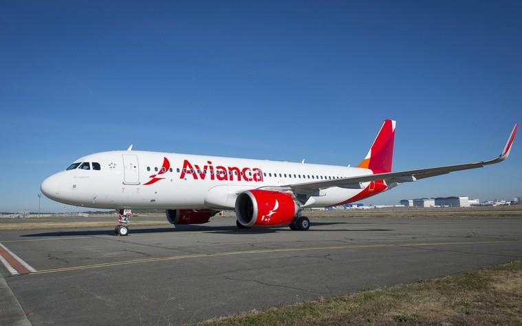 Airbus A320neo da Avianca
