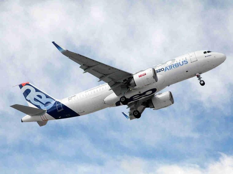 Airbus A320neo equipado com o motor CFM Leap-1A