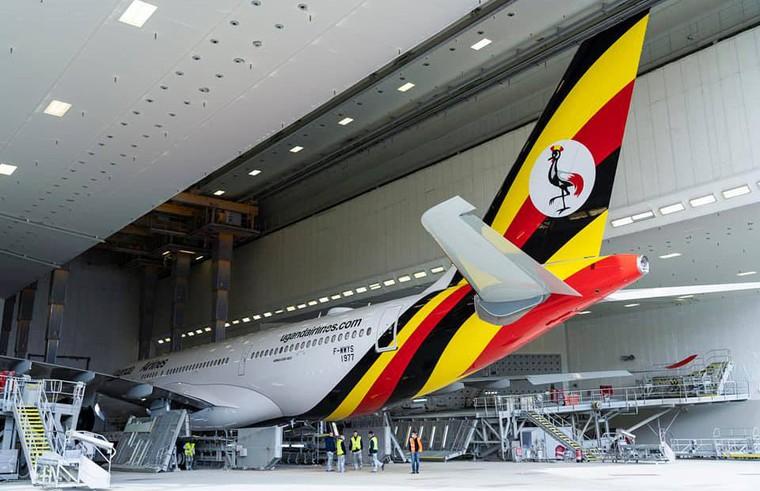 Airbus A330-800 da Uganda Airlines