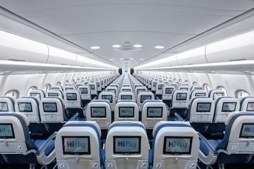 Classe economica do A330 da HiFly