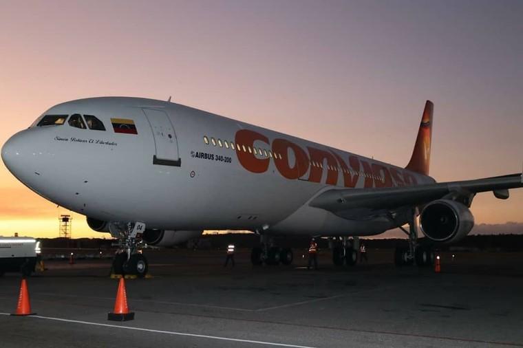 Airbus A340 da venezuelana Conviasa